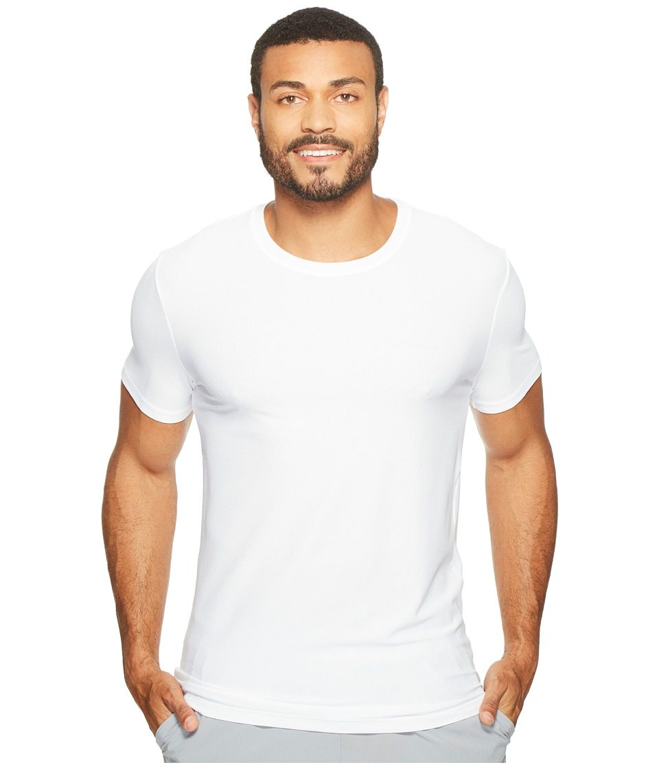 Columbia Diamond Mesh Crew Neck Tee Single (White) Men