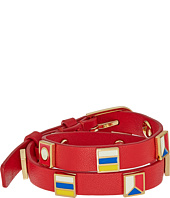Tory Burch - Sail Flag Double Wrap Bracelet