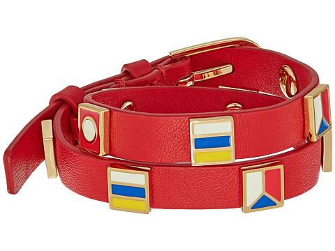 Tory Burch Sail Flag Double Wrap Bracelet