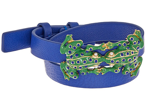 Tory Burch Frog Double Wrap Bracelet - Court Green/Tory Gold