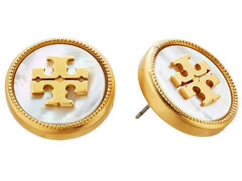 Tory Burch Semi-Precious Stud Earrings