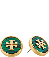 Tory Burch - Semi-Precious Stud Earrings