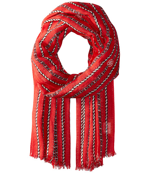 Tory Burch Gemini Link Rope Oblong - Nantucket Red