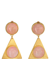 Tory Burch - Triangle Stone Earrings
