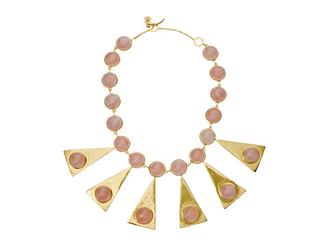 Tory Burch Triangle Stone Statement Necklace