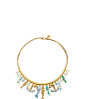 Tory Burch - Fish Charm Statement Collar