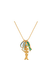 Tory Burch - Fish Charm Necklace