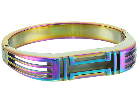 Tory Burch Fitbit Metal Hinged Bracelet - Metallic Multi Multi/Iridescent