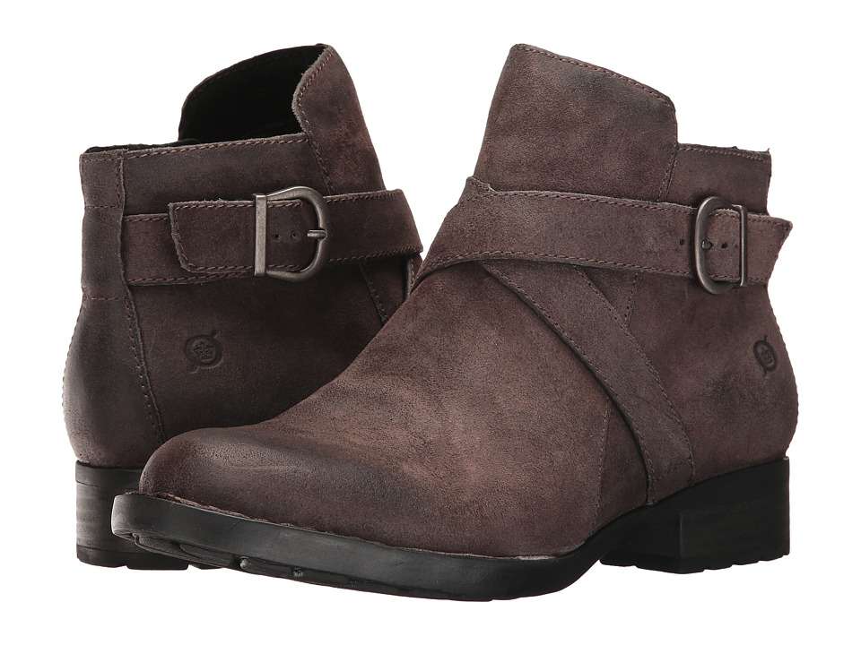 Born - Trinculo (Grey Distressed) Womens Boots