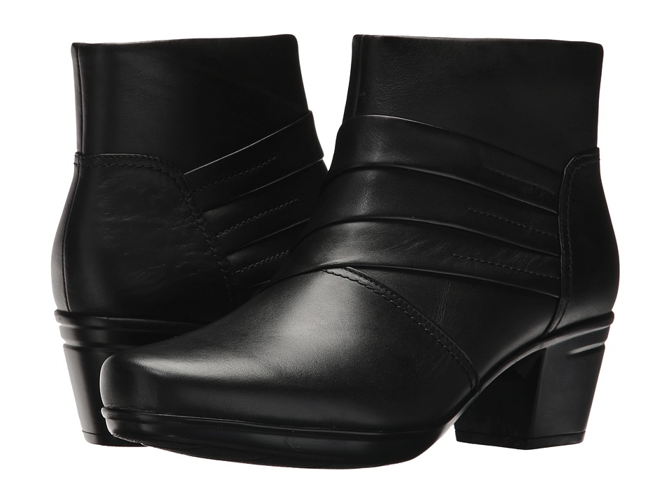 Clarks Emslie Moxie (Black Leather) Women