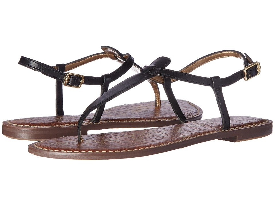 Sam Edelman Gigi (True Black Leather) Sandals