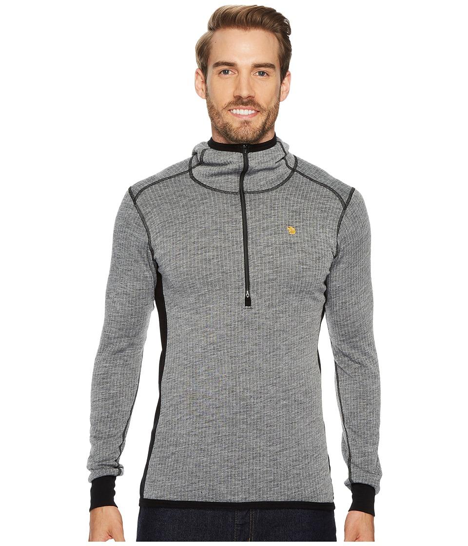 Fjallraven - Bergtagen Woolterry Hoodie (Grey) Mens Sweatshirt