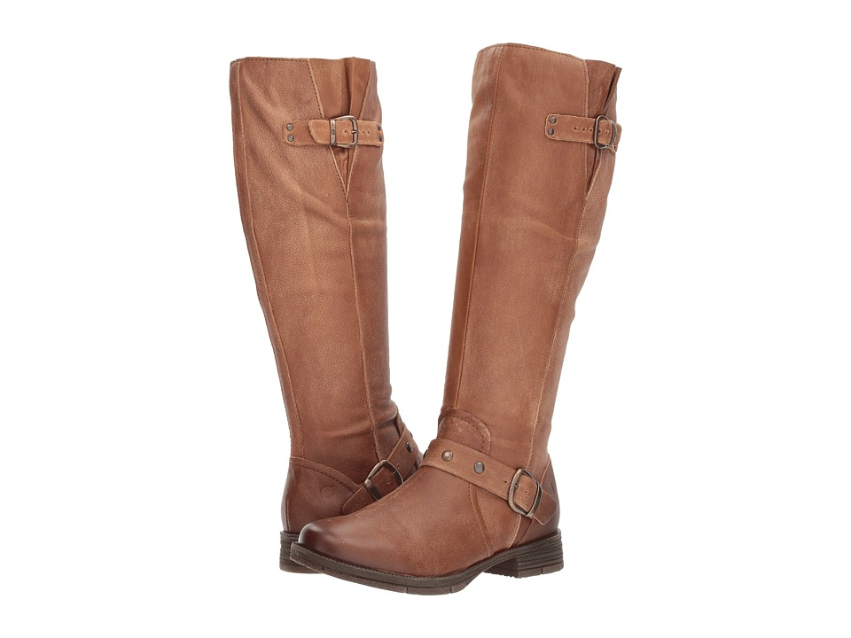Born Ashland (Brown Full Grain) Women's Dress Pull-on Boots