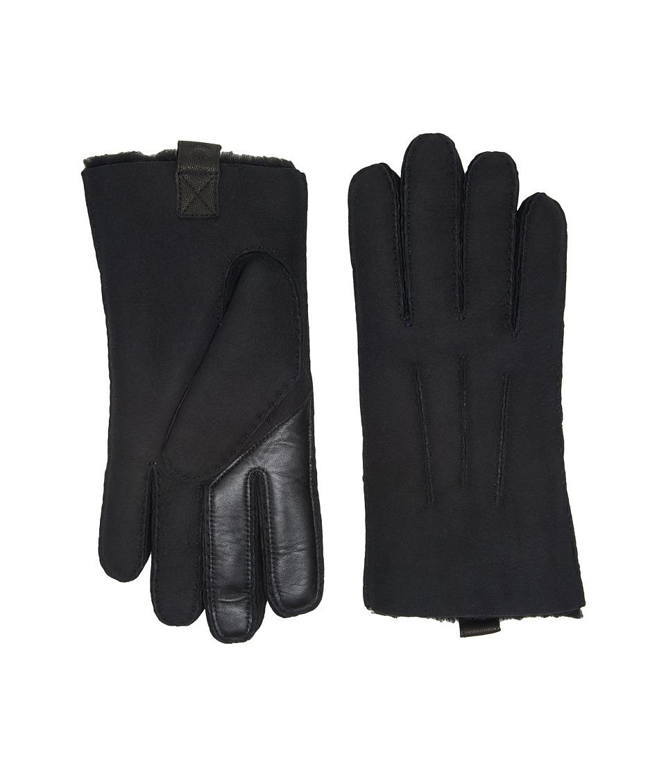 UGG Sheepskin Smart Gloves (Black) Extreme Cold Weather Gloves