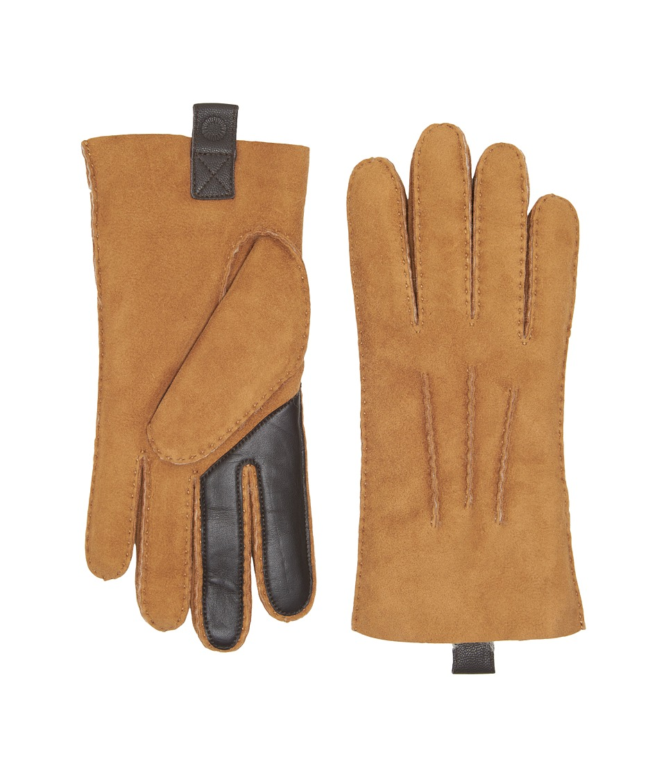 UGG Sheepskin Smart Gloves (Chestnut) Extreme Cold Weather Gloves