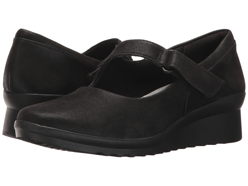 Clarks - Caddell Yale (Black) Womens  Shoes