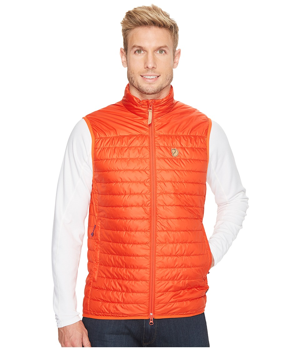 Fjallraven Abisko Padded Vest (Flame Orange) Men