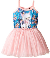 Rock Your Baby - Retro Kitten Singlet Circus Dress (Toddler/Little Kids/Big Kids)