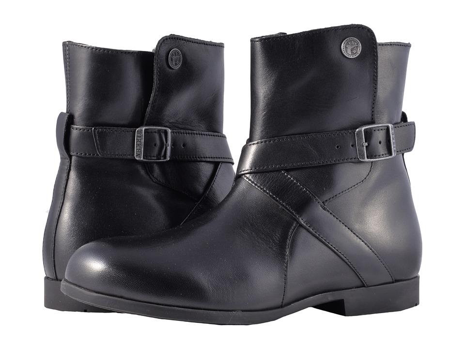 Birkenstock Collins (Black Leather) Women