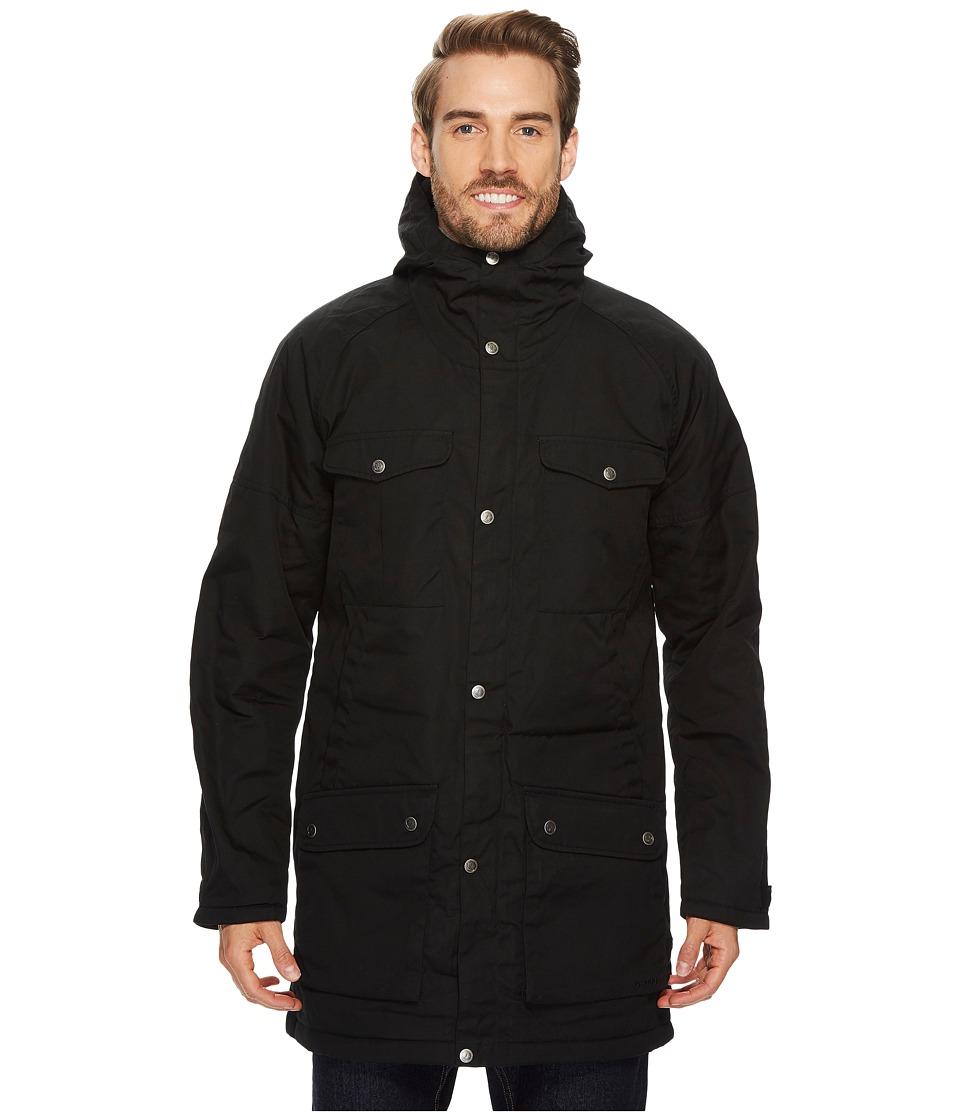 Fjallraven Greenland Winter Parka (Black/Grey) Men