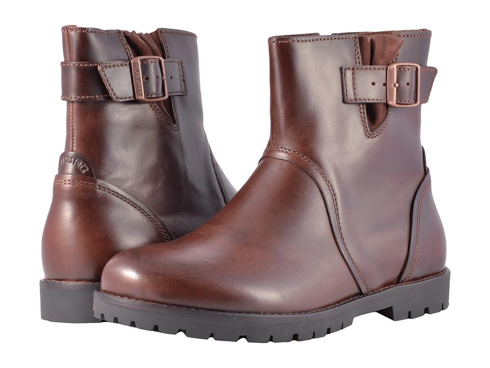 Birkenstock Stowe (Espresso Leather) Women