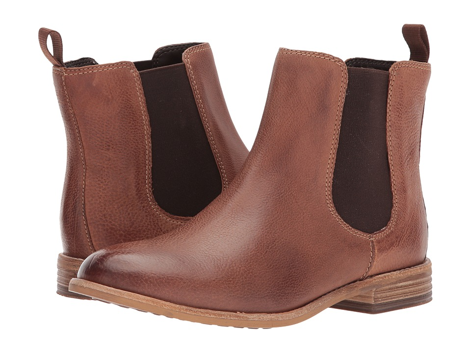 Clarks Maypearl Nala (Dark Tan Leather) Women