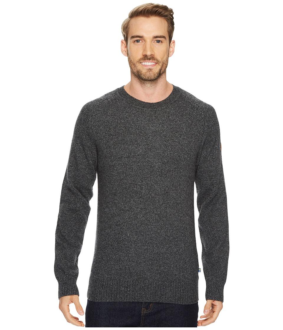 Fjallraven Ovik Re-Wool Sweater (Dark Grey) Men
