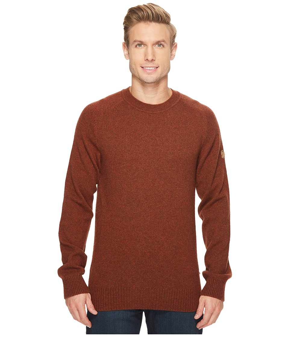Fjallraven - Ovik Re-Wool Sweater (Autumn Leaf) Mens Sweater