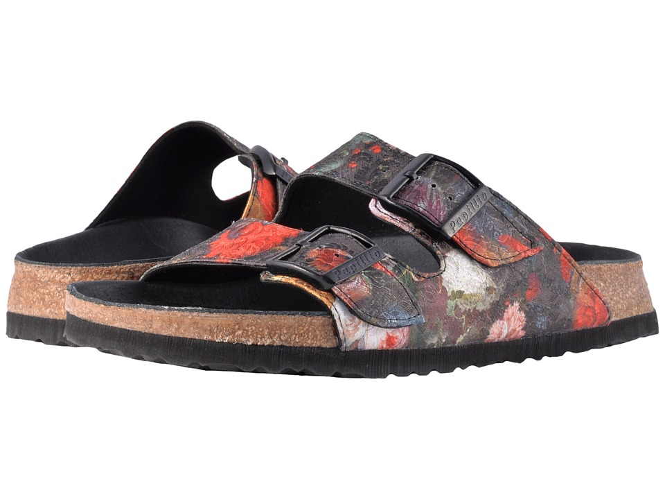 Birkenstock - Arizona Lux (Floral Bouquet Textile) Women's Sandals