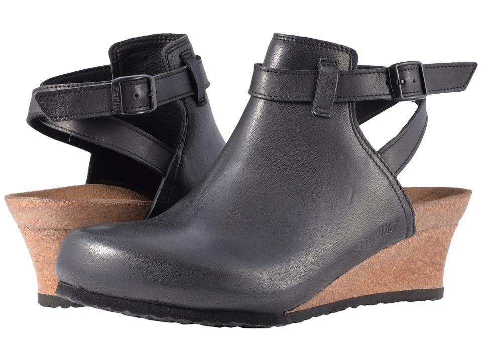 Birkenstock Esra (Black Leather) Women