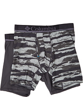 Columbia - Diamond Mesh Brush Stroke Boxer Brief 2-Pack