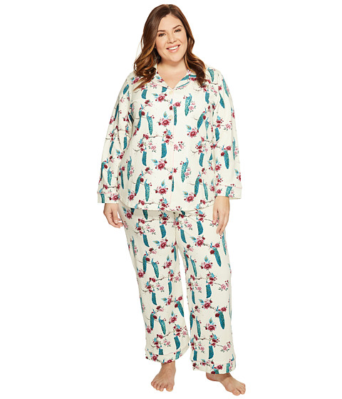 BedHead Plus Size Long Sleeve Classic Pajama Set - Zappos.com Free ...