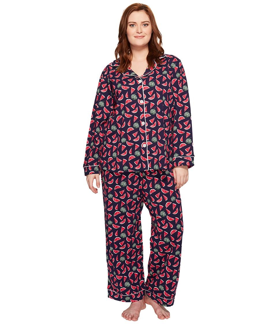 BedHead - Plus Size Long Sleeve Classic Pajama Set