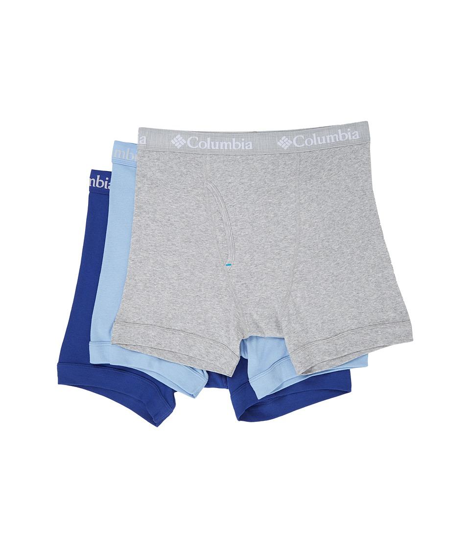 Columbia - 100% Cotton Boxer Briefs 3