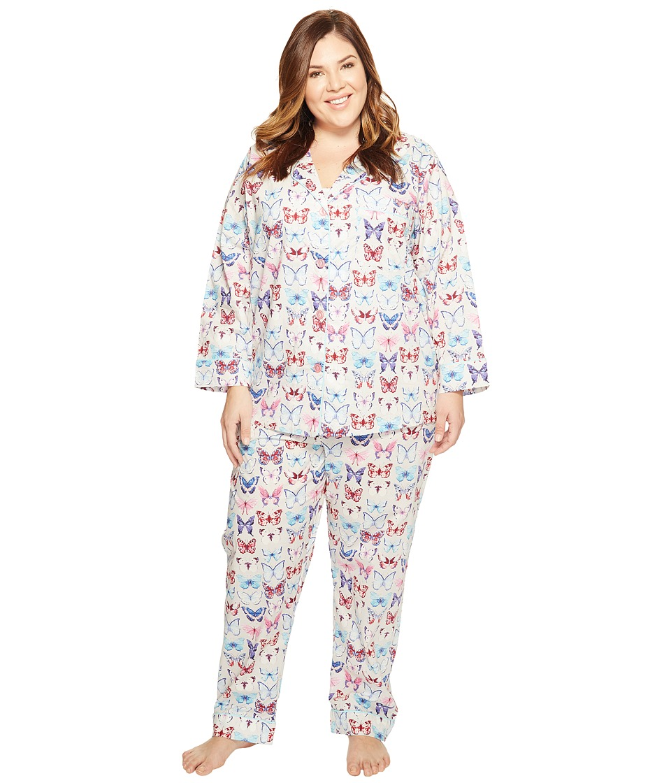 BedHead - Plus Size Long Sleeve Classic PJ Set