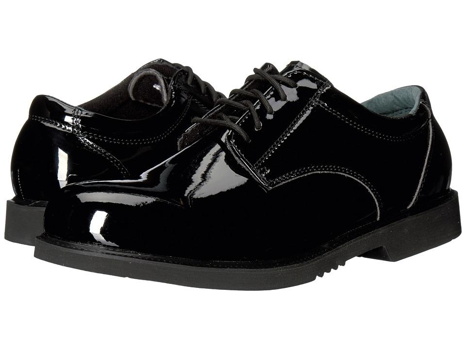 Thorogood Uniform Classics Oxford (High Gloss Pormeric Black) Men