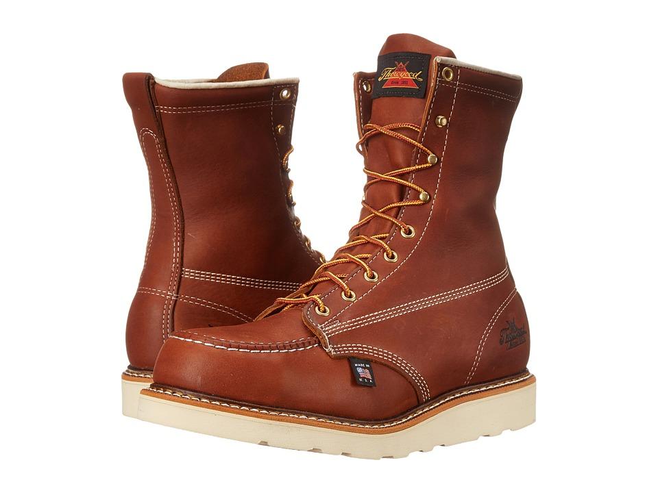 Thorogood American Heritage 8 Steel Toe Wedge (Tobacco) Men