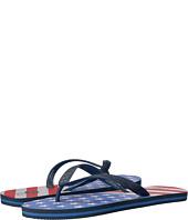 Vineyard Vines - American Flag Printed Flip-Flop