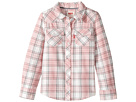 Levi's(r) Kids The Western Long Sleeve Plaid Top (Toddler)