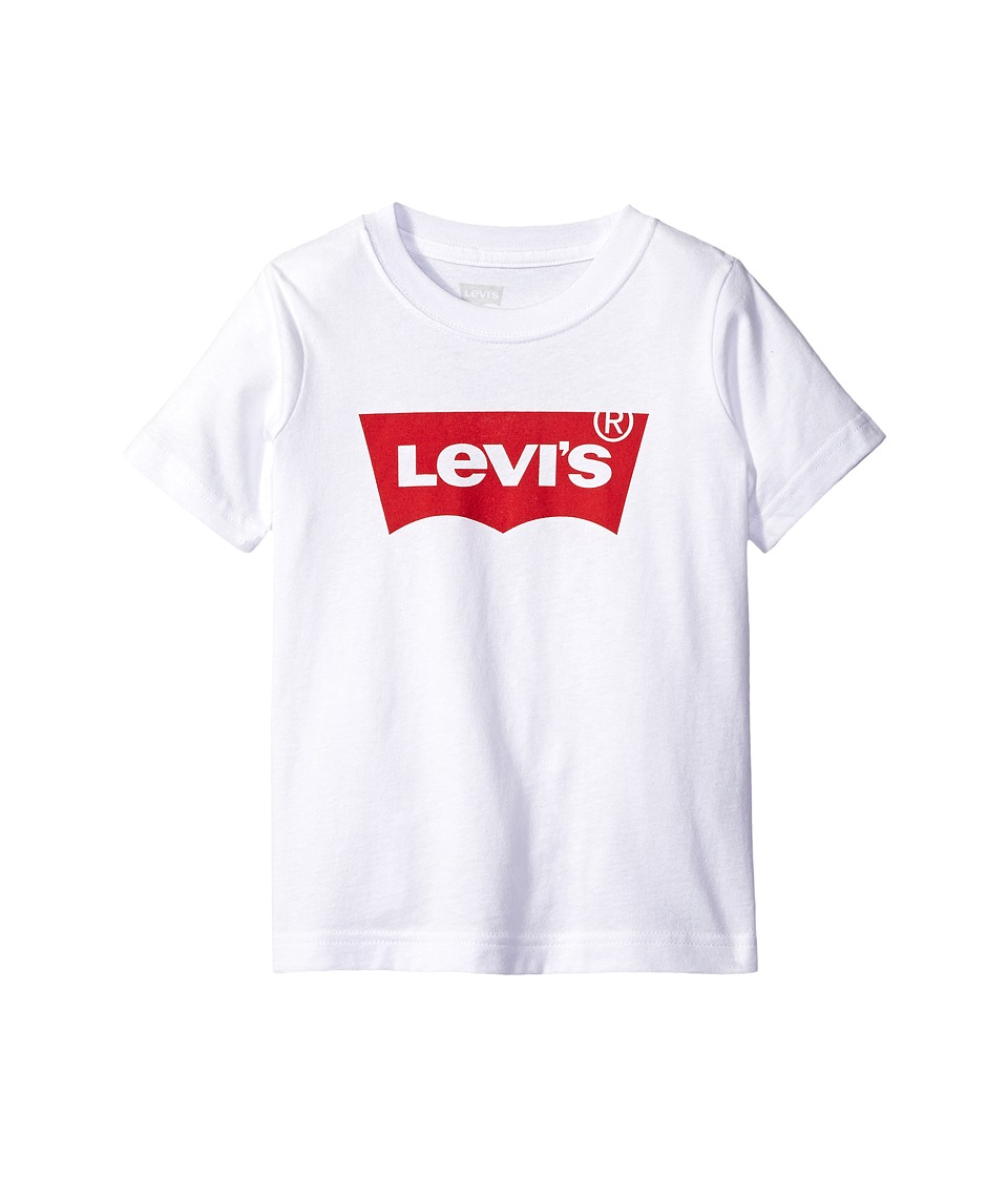 Levis(r) Kids - Graphic Tee (Big Kids) (White) Boys T Shirt