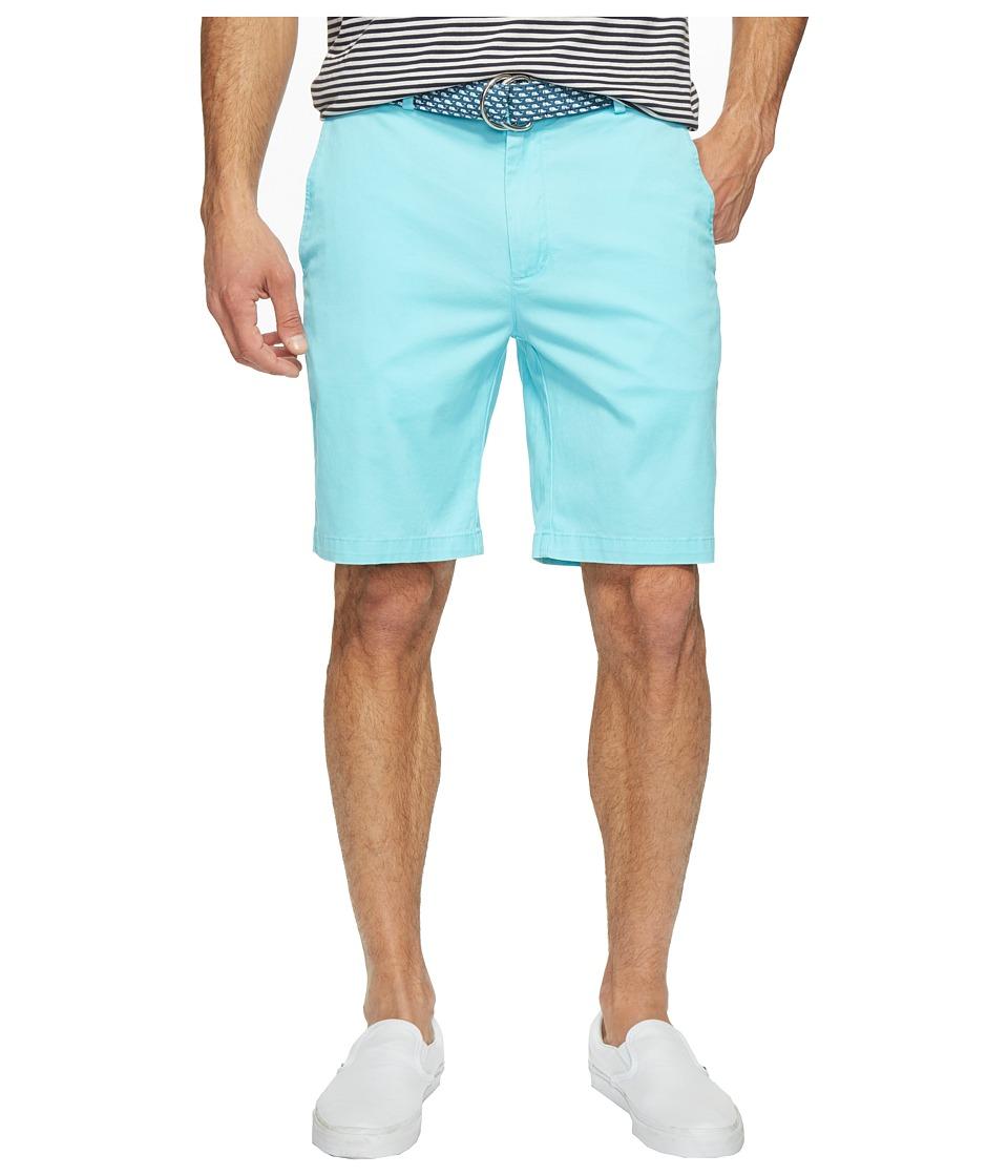 Vineyard Vines 9 Stretch Breaker Shorts (Flats Blue) Men