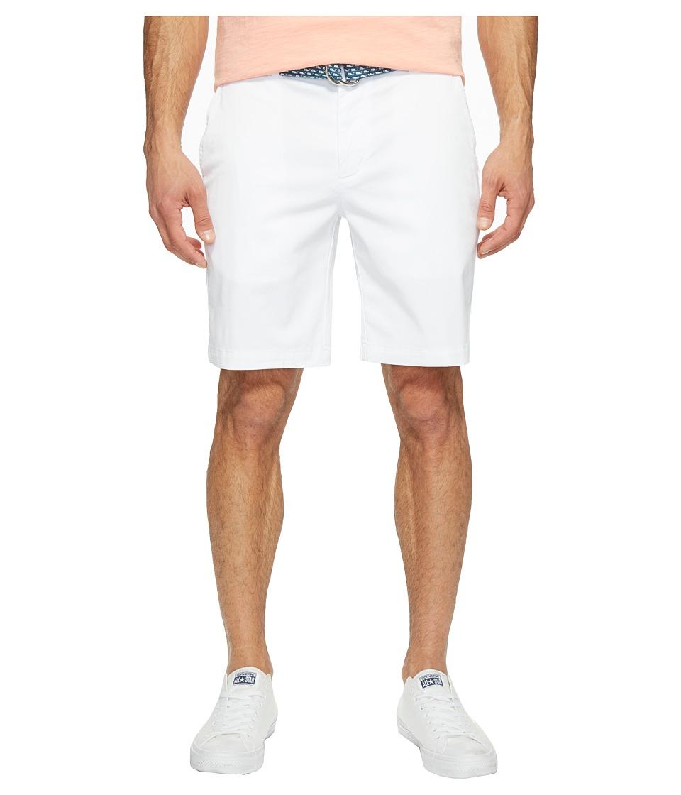 Vineyard Vines 9 Stretch Breaker Shorts (White Cap) Men