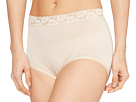 Wacoal Bodysuede Lace Waist Brief