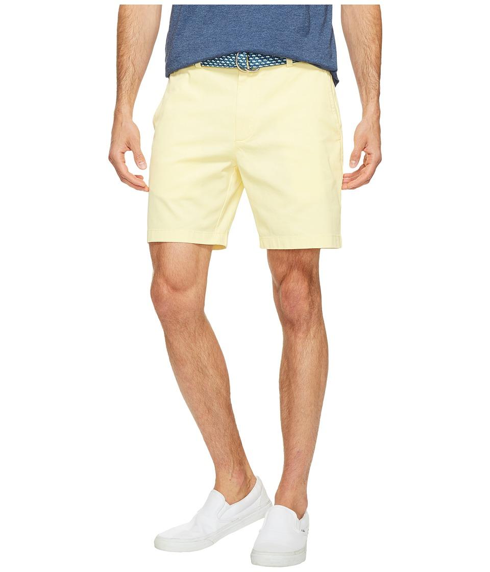 Vineyard Vines 7 Stretch Breaker Shorts (Lemon Drop) Men