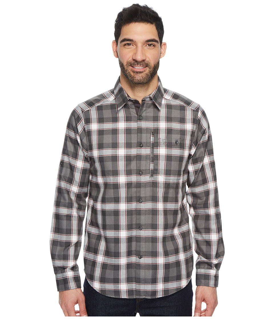 Fjallraven - Fjallglim Shirt (Stone Grey) Mens Long Sleeve Button Up