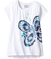 Lucky Brand Kids - Short Sleeve Butterfly Tee (Big Kids)