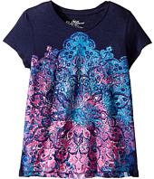 Lucky Brand Kids - Short Sleeve Mandala Tee in Slub Jersey (Big Kids)
