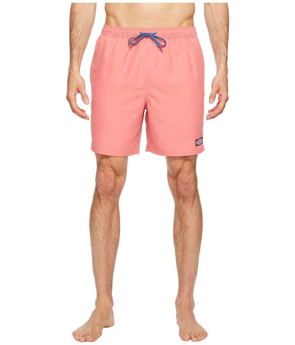 Vineyard Vines Solid Bungalow Shorts (Lobster Reef) Men