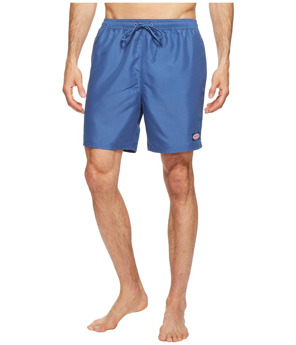 Vineyard Vines Solid Bungalow Shorts (Moonshine) Men