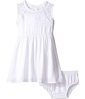 Lucky Brand Kids - Sleeveless Twill Eyelet Dress (Toddler)
